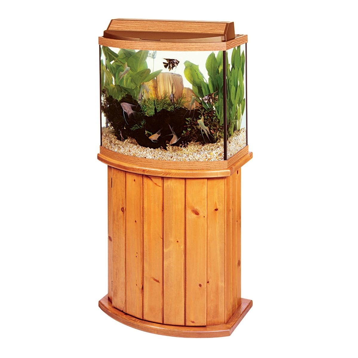 Choose your aquarium crystal clean aquariums ct for Bow front fish tank